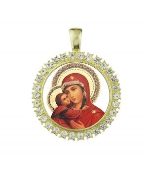 Medalla Virgen ortodoxa