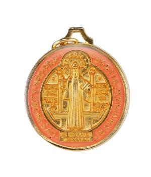 Saint Benedict double-sided...