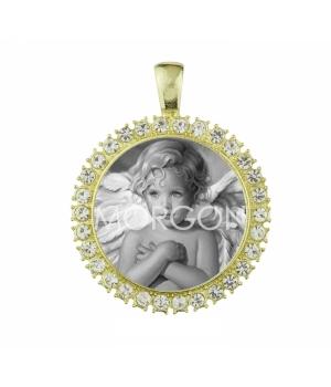 Medalla modelo Angel