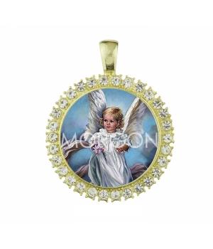 Medalla modelo Ángela